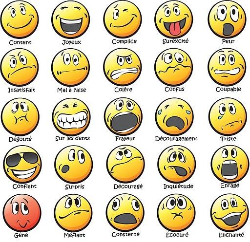 les 4  u00e9motions principales  u2013 conscience joyeuse