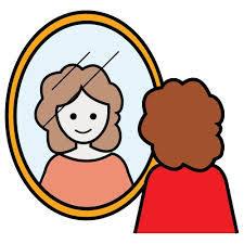 miroir se regarder
