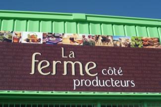 la ferme coté producteur